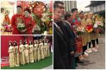 Sau diện mạo hơi dừ trong ngày ăn hỏi, fan hy vọng vợ tương lai Đỗ Duy Mạnh đổi phong cách trong ngày cưới-6