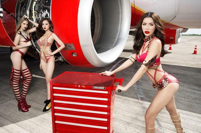 Người đẹp mặc bikini đi bay: Độc chiêu hút khách của các hãng hàng không-3