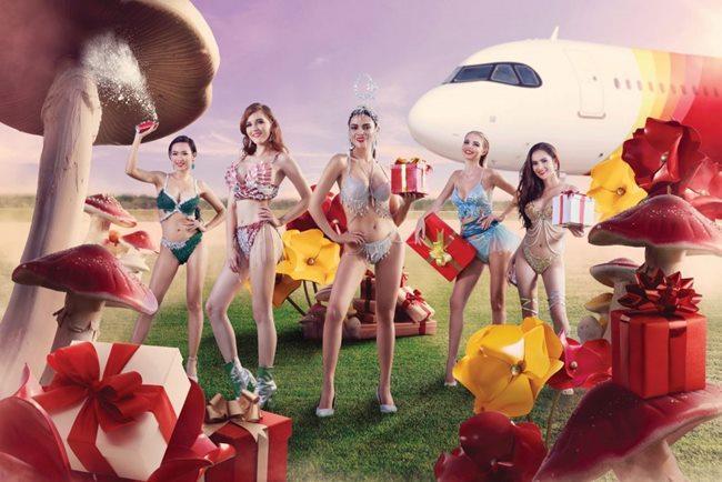 Người đẹp mặc bikini đi bay: Độc chiêu hút khách của các hãng hàng không-8