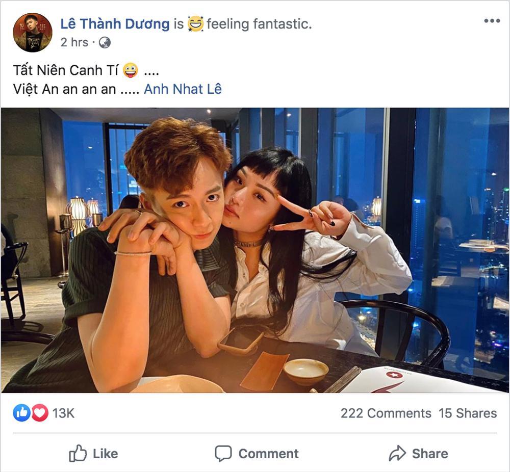 Ngô Kiến Huy và Miu Lê lại thân thiết như chưa từng có chuyện cạch mặt vì bùng show-3