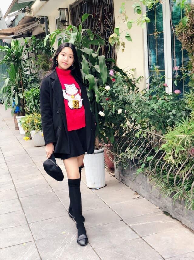 Các ái nữ nhà sao Việt có chiều cao nổi bật-7