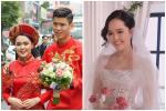 Gần đến ngày cưới, Quỳnh Anh khoe ảnh cưới mặc áo đấu đặc biệt của Duy Mạnh ở đội tuyển Việt Nam-6