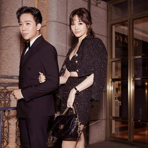Diện toàn đồ Chanel sang chảnh, Hari Won bị chồng trách vì một phụ kiện 4.000 đồng-1
