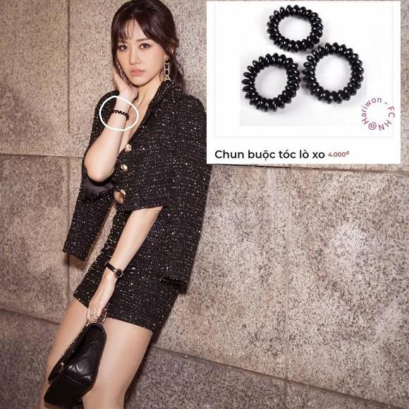 Diện toàn đồ Chanel sang chảnh, Hari Won bị chồng trách vì một phụ kiện 4.000 đồng-3