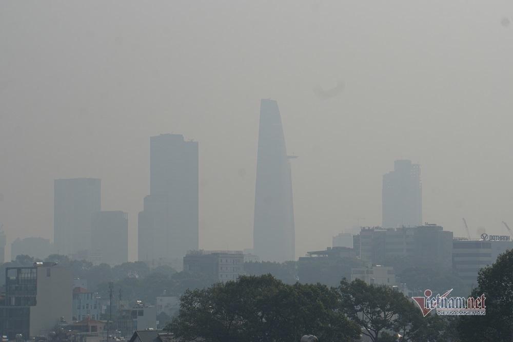 Sương mù ô nhiễm bao trùm Sài Gòn ngày cận Tết-3