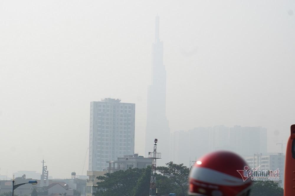 Sương mù ô nhiễm bao trùm Sài Gòn ngày cận Tết-4