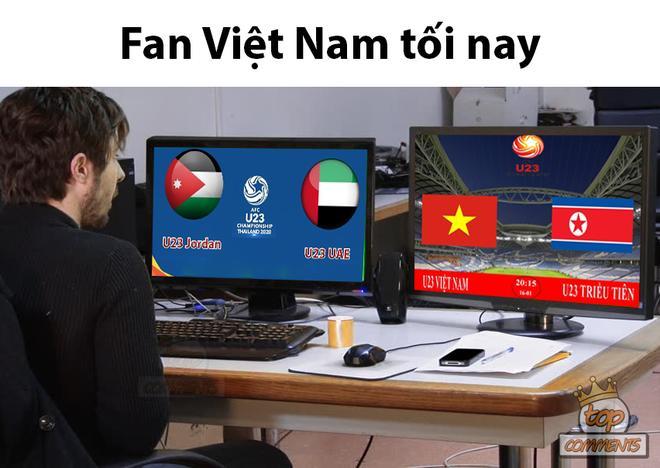 Dân mạng chế ảnh, cổ vũ U23 Việt Nam thắng U23 Triều Tiên-3