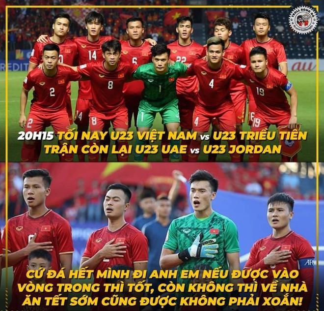 Dân mạng chế ảnh, cổ vũ U23 Việt Nam thắng U23 Triều Tiên-2