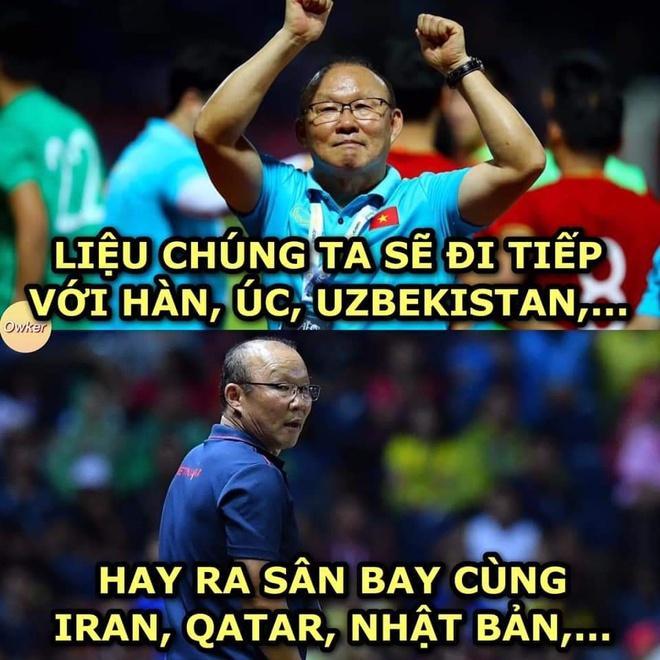 Dân mạng chế ảnh, cổ vũ U23 Việt Nam thắng U23 Triều Tiên-5