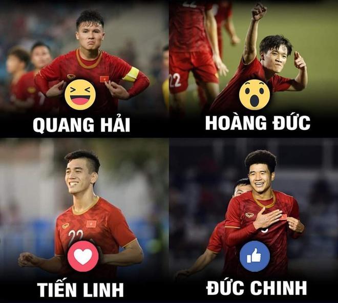 Dân mạng chế ảnh, cổ vũ U23 Việt Nam thắng U23 Triều Tiên-6