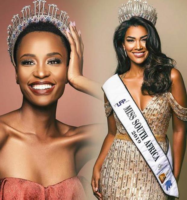 Hoa hậu Hoàn vũ 2019 bất ngờ chuyển giao ngôi vị cho Á hậu 1-1