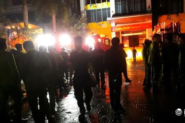 Cháy tòa nhà dầu khí Thanh Hóa: 2 nạn nhân tử vong, 13 người cấp cứu-1
