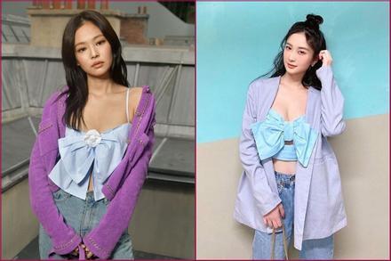 Jun Vũ, Thảo Tâm mặc áo nhái Jennie