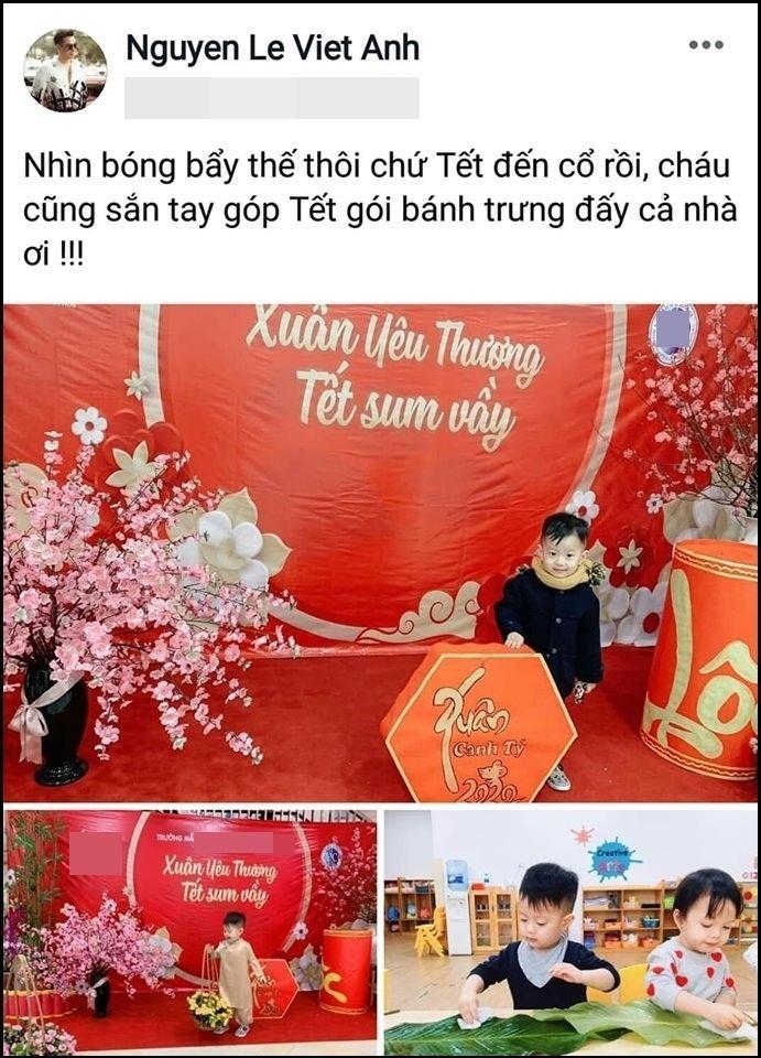 Sau mâu thuẫn tưởng không thể chạm mặt, Việt Anh và vợ cũ cùng nhau đưa con đến trường?-2