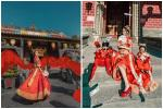 Vợ hai Minh Nhựa 'chơi lớn' với bộ ảnh phong cách Trung Hoa đón Tết