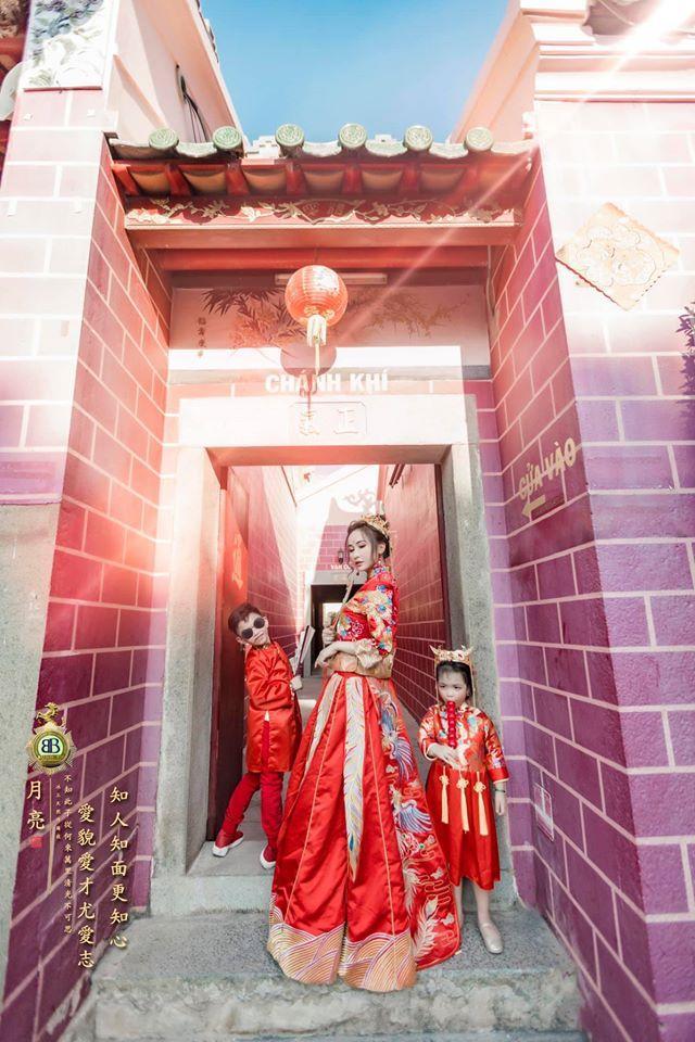 Vợ hai Minh Nhựa chơi lớn với bộ ảnh phong cách Trung Hoa đón Tết-5
