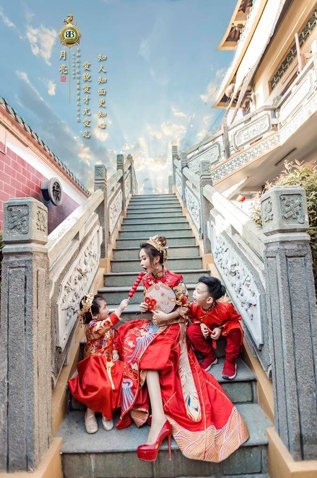 Vợ hai Minh Nhựa chơi lớn với bộ ảnh phong cách Trung Hoa đón Tết-8