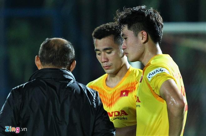 Huỳnh Tấn Sinh nếm được vị chát sau trận thua U23 Triều Tiên-2