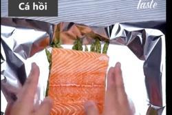 Chế biến cá hồi áp chảo theo 2 cách đơn giản