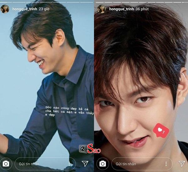 Hồng Quế mê sảng vì vẻ đẹp của Lee Min Ho: Em sẽ chờ trước cửa nhà anh-6