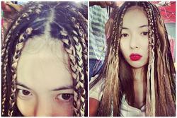 HyunA bị ném đá khi khoe ảnh tết tóc giống phụ nữ da màu
