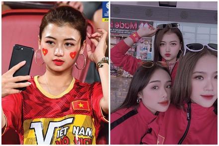 CĐV châu Á khen ngợi nhan sắc cô gái Việt xuất hiện trên fanpage AFC