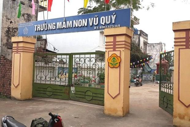 Nghi vấn bé gái 3 tuổi ở Thái Bình bị xâm hại tại trường mầm non-1
