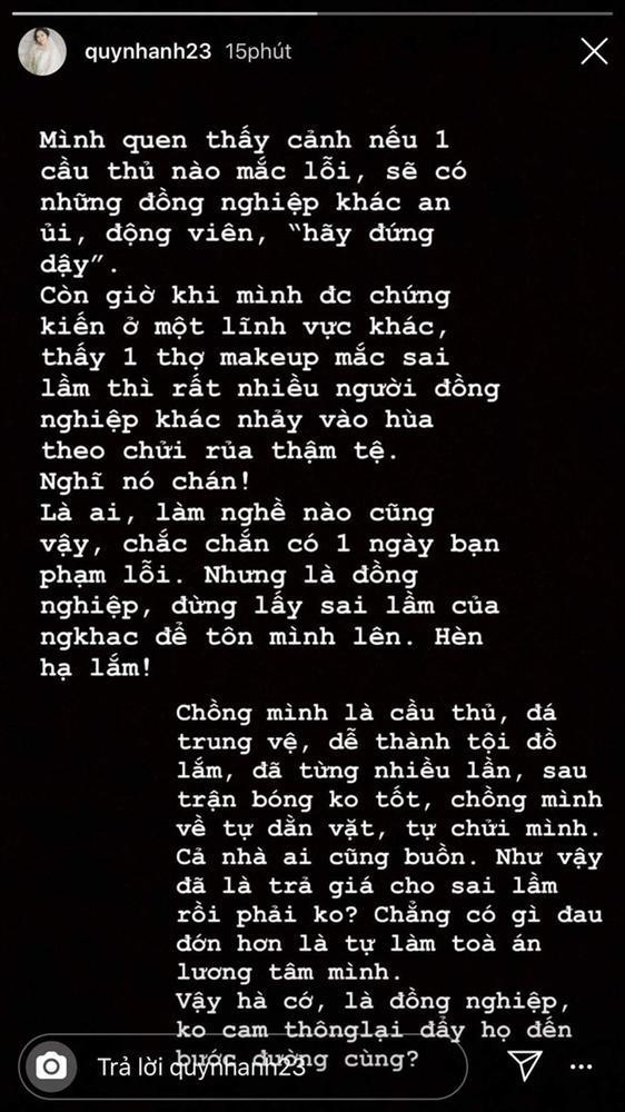 Sau gương mặt sai sai trong lễ ăn hỏi, vợ Đỗ Duy Mạnh nói gì khi bị cho là có thù với make-up?-3