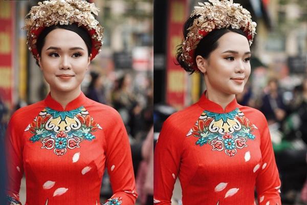 Sau gương mặt sai sai trong lễ ăn hỏi, vợ Đỗ Duy Mạnh nói gì khi bị cho là có thù với make-up?-2
