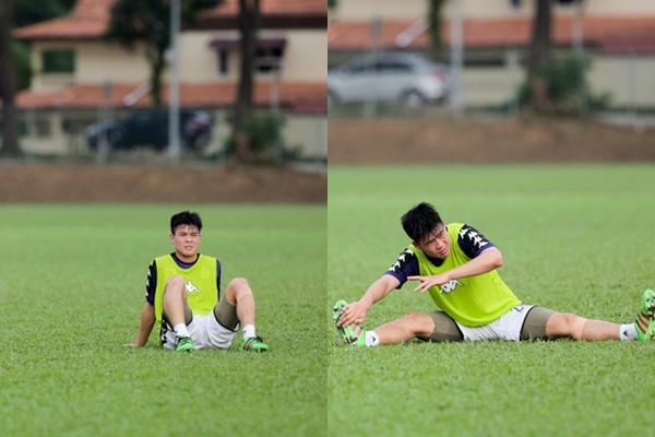 Đỗ Duy Mạnh vật lộn trên sân cỏ sau lễ ăn hỏi chưa được một ngày đã phải chia tay Quỳnh Anh-3