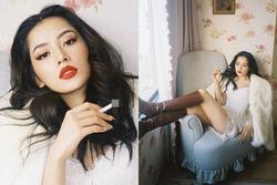 Đổi gió với hình ảnh bad girl, Chi Pu bị chính fan ruột phản ứng vì cầm thuốc lá tạo dáng