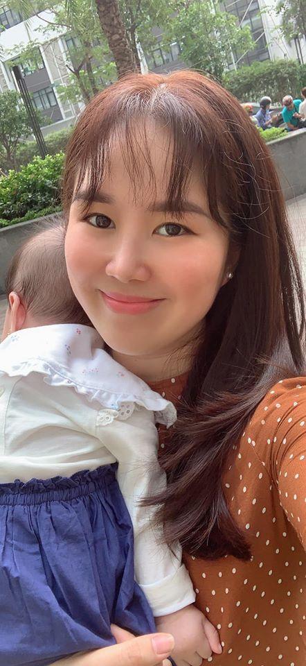Qua rồi thời bị chê béo núc ních, mẹ bỉm sữa Lê Phương tự tin khoe gương mặt chuẩn V-line-4