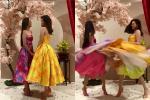 Tái hiện màn nắm tay trao giải, Hoa hậu Khánh Vân - Á hậu Kim Duyên tốc váy 'choảng' nhau