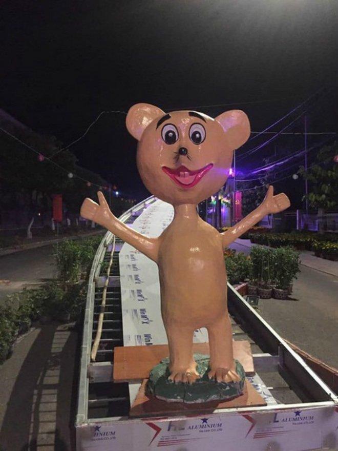 Hàng loạt linh vật chuột dịp Tết Canh Tý khiến dân mạng dở khóc dở cười-1