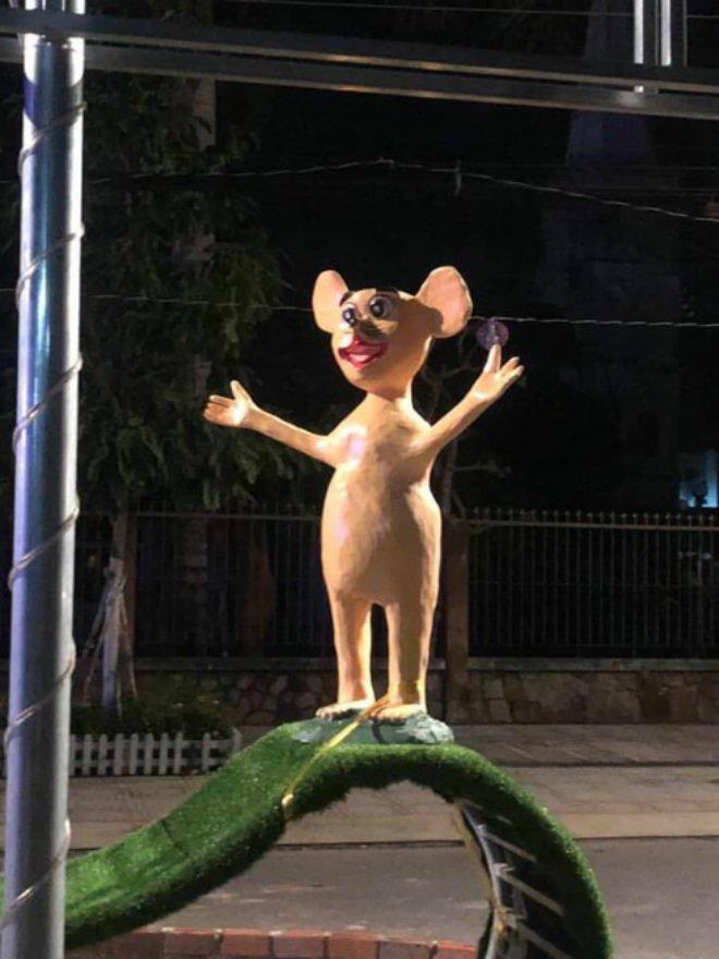 Hàng loạt linh vật chuột dịp Tết Canh Tý khiến dân mạng dở khóc dở cười-2