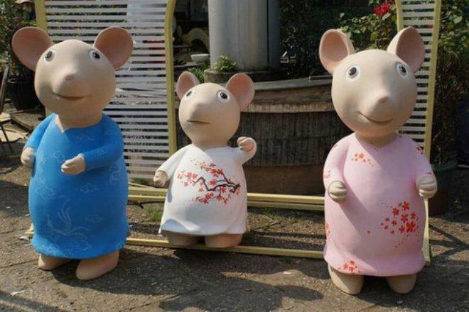 Hàng loạt linh vật chuột dịp Tết Canh Tý khiến dân mạng dở khóc dở cười-11