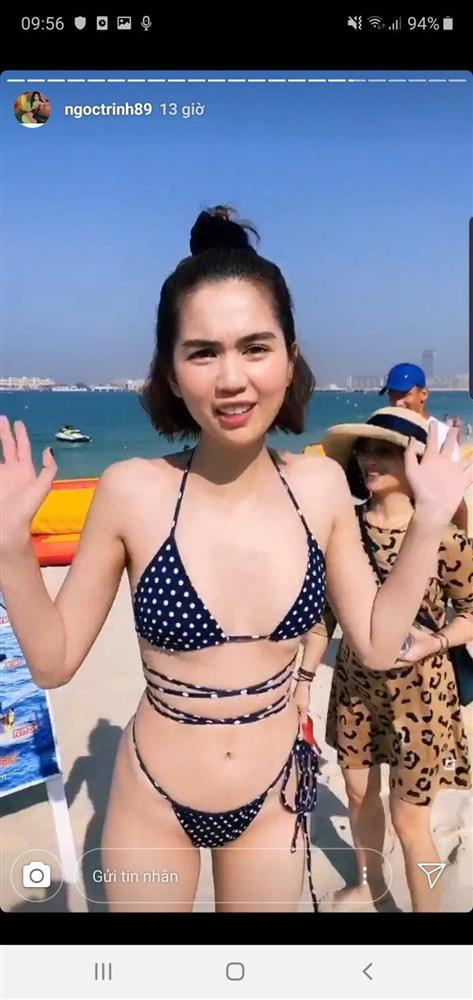 Ai cũng sắm Tết váy áo lộng lẫy, Ngọc Trinh hết mua đồ lót đến bikini che không nổi ngực-8