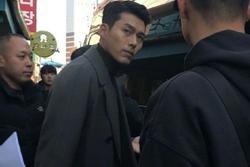 Tài tử 'Hạ cánh nơi anh' Hyun Bin điển trai ngời ngời bất chấp ảnh chụp lén