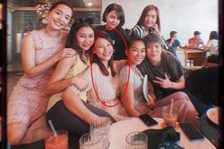 Sau gần 1 tháng xác nhận mang thai, MC Hoàng Oanh đã phát tướng thấy rõ, mặt bầu bĩnh hơn