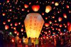Lễ hội đèn lồng thắp sáng Nam Kinh trong những ngày đầu năm mới