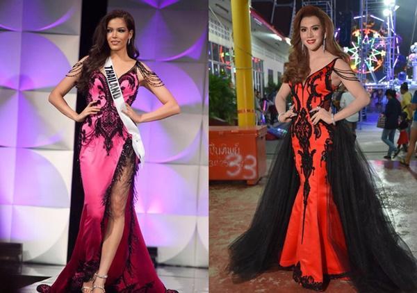 Loạt hoa hậu ăn gạch đá vì bị nghi copy váy ở Miss Universe, riêng Hương Giang lật ngược thế cờ-1