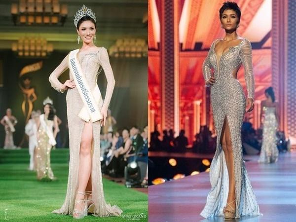 Loạt hoa hậu ăn gạch đá vì bị nghi copy váy ở Miss Universe, riêng Hương Giang lật ngược thế cờ-2