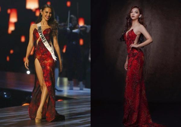 Loạt hoa hậu ăn gạch đá vì bị nghi copy váy ở Miss Universe, riêng Hương Giang lật ngược thế cờ-4