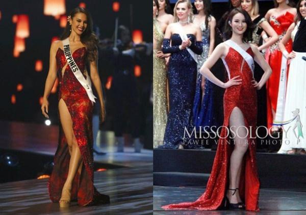 Loạt hoa hậu ăn gạch đá vì bị nghi copy váy ở Miss Universe, riêng Hương Giang lật ngược thế cờ-5