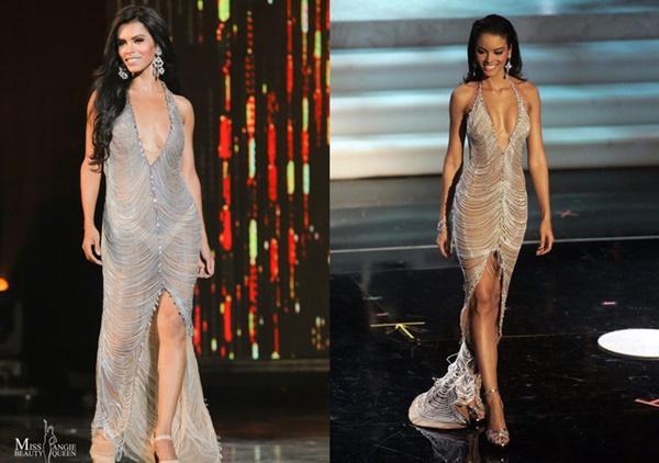 Loạt hoa hậu ăn gạch đá vì bị nghi copy váy ở Miss Universe, riêng Hương Giang lật ngược thế cờ-8