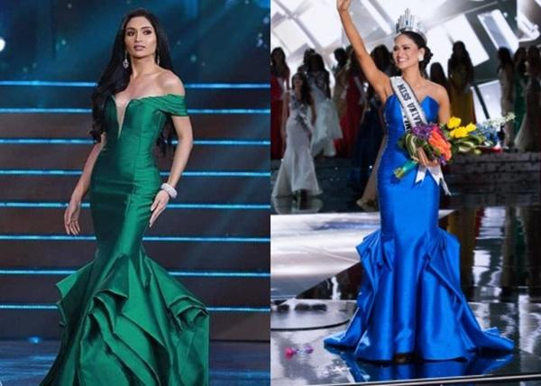Loạt hoa hậu ăn gạch đá vì bị nghi copy váy ở Miss Universe, riêng Hương Giang lật ngược thế cờ-9