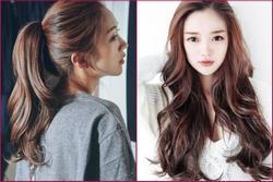 4 kiểu tóc 'ăn Tết' chuẩn không cần chỉnh dành cho các cô nàng mặt dài