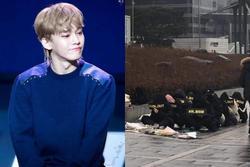 Cuộc biểu tình đuổi Chen khỏi EXO: Số lượng người tham gia ít ỏi, phóng viên chán quá phải đi về
