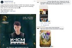 CĐM Việt đồng loạt tấn công trang fanpage, đòi tẩy chay sự kiện tại Thái Lan mời K-ICM biểu diễn