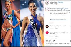 Bản tin Hoa hậu Hoàn vũ 19/1: Hoàng Thùy dừng chân top 20, khán giả quốc tế nói gì?